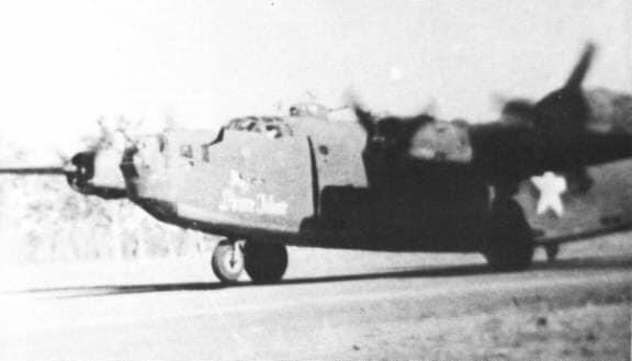 B-24D mit Prince Valiant Schriftzug