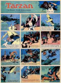 Tarzan #29 by Hal Foster, dated 09/27 1931